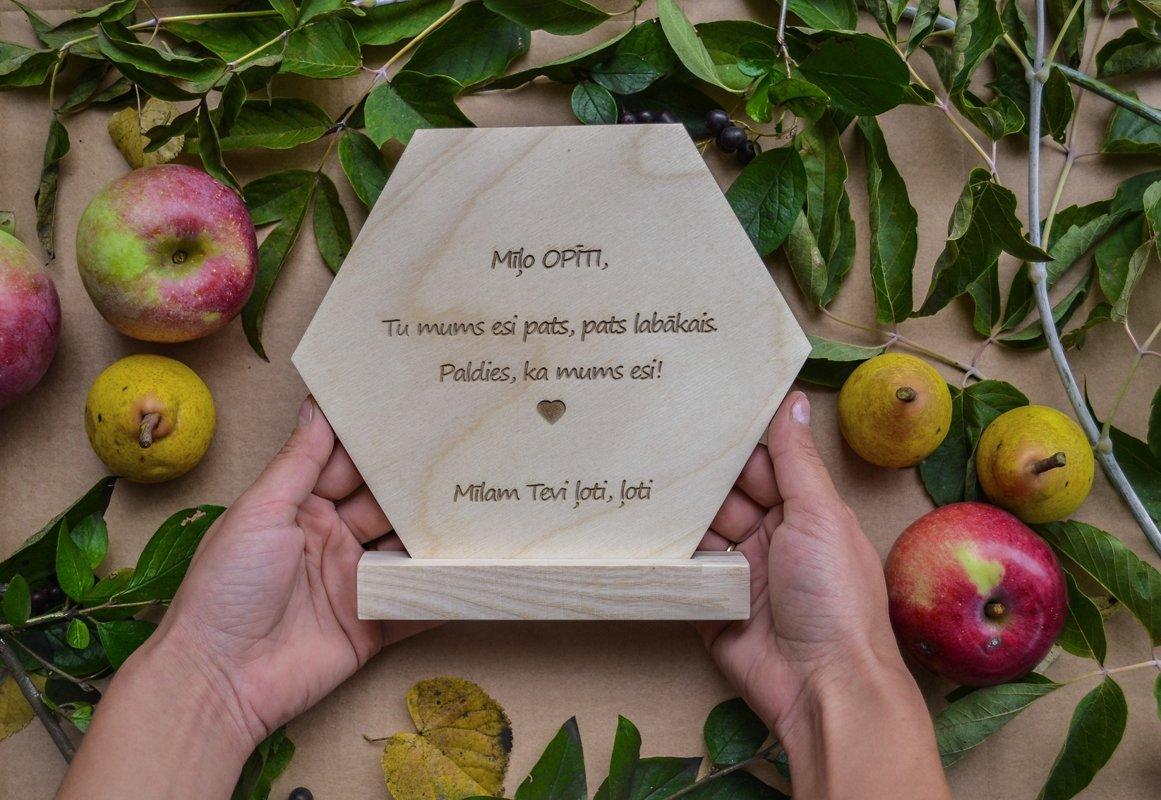 Mīļo Opīti, Tu mums esi pats, pats labākais. Paldies, ka mums esi!  Mīlam Tevi ļoti, ļoti