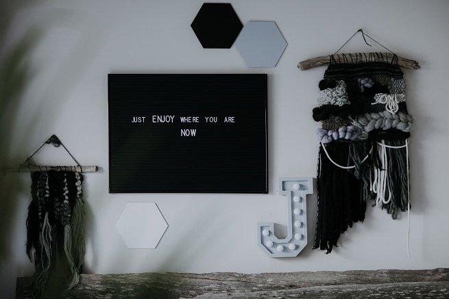 "Koka dekors ""Heksagons"" bez teksta"