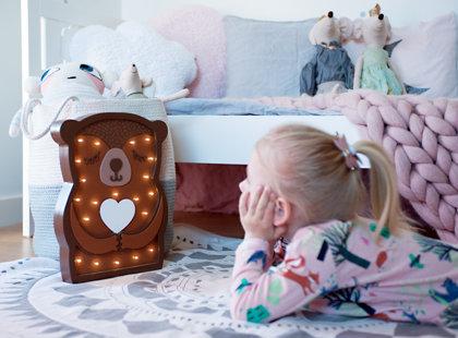 Teddy bear nightlight