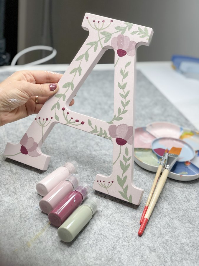 DIY LETTER & PAINT SETS