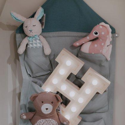 Lielisks bērnistabas dekors